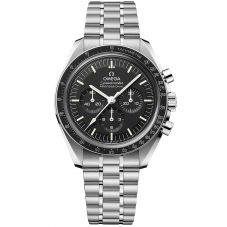 OMEGA Mens Speedmaster Moonwatch Professional Co-Axial Master Chronometer Black Bracelet Watch 310.30.42.50.01.002
