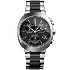 Rado Mens D-Star Ceramic Black Bracelet Watch R15937172 XL