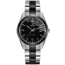 Rado Mens HyperChrome Automatic Black Ceramic and Steel Bracelet Watch R32109152 L
