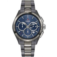 Rado Mens HyperChrome Automatic Chronograph Grey Ceramic Bracelet Watch R32024202