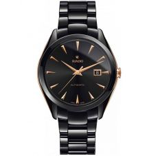 Rado Mens HyperChrome Automatic Black Ceramic Bracelet Watch R32252162