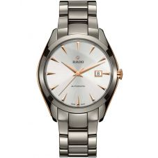 Rado Mens HyperChrome Automatic Grey Ceramic Bracelet Watch R32256012