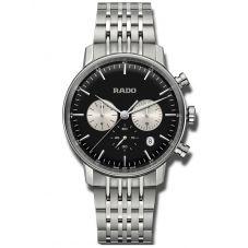 Rado Mens Coupole Classic Quartz Chronograph Bracelet Watch R22910153