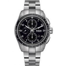 Rado Mens HyperChrome Automatic Chronograph Grey Ceramic and Steel Bracelet Watch R32042153