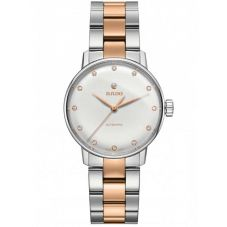 Rado Ladies Coupole Classic Diamonds Automatic Two Tone Bracelet Watch R22862742 S