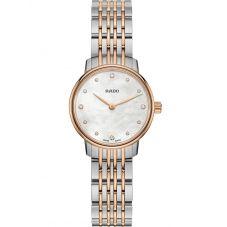 Rado Ladies Coupole Classic Diamonds Quartz Two Tone Bracelet Watch R22897923