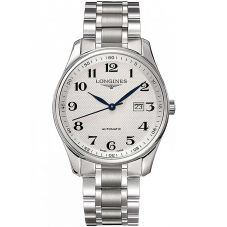 Longines Mens Master Silver Dial Bracelet Watch L28934786