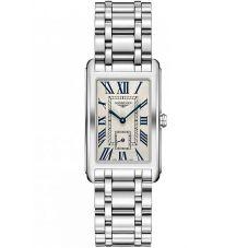 Longines Mens DolceVita Silver Dial Bracelet Watch L57554716