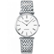 Longines Mens La Grande Classique White Dial Bracelet Watch L49084116