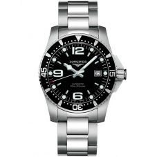 Longines Mens HydroConquest Automatic Black Dial Bracelet Watch L37424566