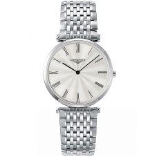 Longines Mens La Grande Classique Silver Dial Bracelet Watch L47554716