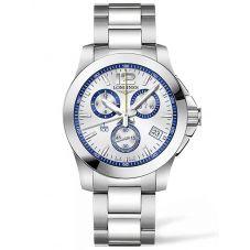 Longines Mens Conquest 1/100 Special Edition St. Mortiz Bracelet Watch L37004786