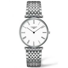 Longines Mens La Grande Classique White Dial Bracelet Watch L47664116