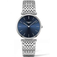 Longines Mens La Grande Classique Blue Dial Bracelet Watch L47554956
