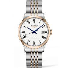Longines Mens Record Two Colour Bracelet Watch L28205117