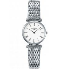 Longines Ladies La Grande Classique White Dial Bracelet Watch L42094116