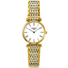 Longines Ladies La Grande Classique White Dial Two Colour Bracelet Watch L42092117