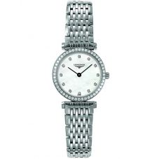 Longines Ladies La Grande Classique Diamond Set Mother of Pearl Dial Bracelet Watch L42410806