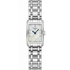 Longines Ladies DolceVita Diamond Set Mother Of Pearl Dial Bracelet Watch L52584876