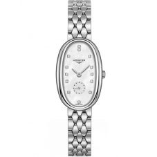 Longines Ladies Symphonette Diamond Set Mother Of Pearl Dial Bracelet Watch L23064876