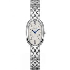 Longines Ladies Symphonette Silver Dial Bracelet Watch L23054716