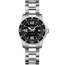 Longines Ladies HydroConquest Automatic Black Dial Bracelet Watch L32844566