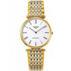 Longines Ladies La Grande Classique White Dial Two Colour Bracelet Watch L49082117