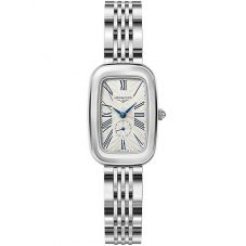 Longines Ladies Equestrian Silver Dial Bracelet Watch L61414716