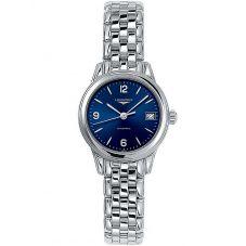 Longines Ladies Flagship Blue Dial Bracelet Watch L42744966