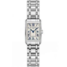Longines Ladies DolceVita Diamond Set Silver Dial Bracelet Watch L52580716