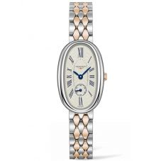 Longines Ladies Symphonette Silver Dial Two Colour Bracelet Watch L23065717