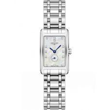 Longines Ladies Dolcevita Diamond Set Mother Of Pearl Dial Bracelet Watch L52554876