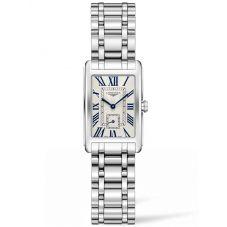 Longines Ladies DolceVita Silver Dial Bracelet Watch L52554716