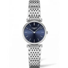 Longines Ladies La Grande Classique Blue Dial Bracelet Watch L42094956