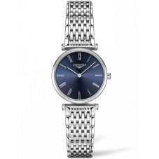 Longines Ladies La Grande Classique Blue Dial Bracelet Watch L42094946