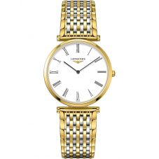Longines Ladies La Grande Classique White Dial Two Colour Bracelet Watch L47092217