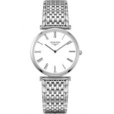 Longines Ladies La Grande Classique White Dial Bracelet Watch L47094216