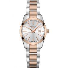 Longines Ladies Conquest Classic Two Tone Bracelet Watch L22863727