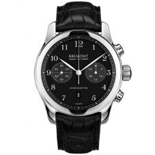 Bremont ALT1-C CLASSIC Polished Black Dial Strap Watch ALT1-C/PB