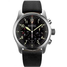 Bremont ALT1-P PILOT Black Strap Watch ALT1-P2/BK