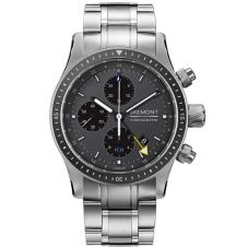 Bremont BOEING MODEL 247 Titanium Bracelet Watch BB247-TI-GMT/DG/BR