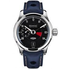 Bremont JAGUAR MKI Black Dial Strap Watch BJ-I/BK