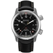 Bremont MARTIN-BAKER III Anthracite Tone Black Dial Strap Watch MBIII/AN