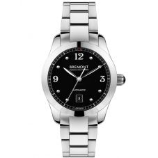 Bremont SOLO-32 AJ Black Dial Bracelet Watch SOLO-32-AJ/BK/BR