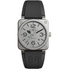 Bell & Ross Mens Instruments Horoblack Limited Edition Watch BR0392-GBL-ST/SRB