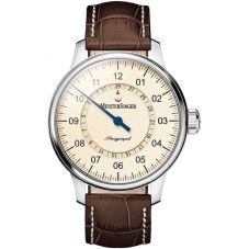 MeisterSinger Mens Perigraph Automatic Strap Watch AM1003