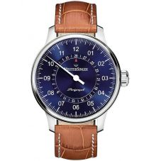 MeisterSinger Mens Perigraph Automatic Strap Watch AM1008