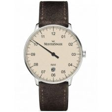 MeisterSinger Mens Neo Plus Automatic Strap Watch NE403