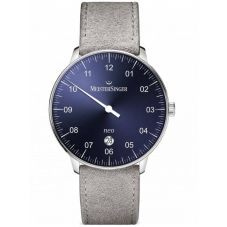 MeisterSinger Mens Neo Plus Automatic Strap Watch NE408