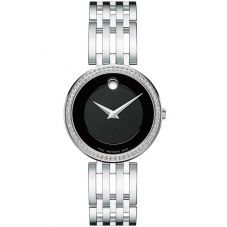 Movado Ladies Esperanza Black Watch 0607052